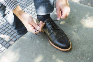 zapato hombre plantilla anatómica