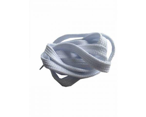 Shoe lace flat white