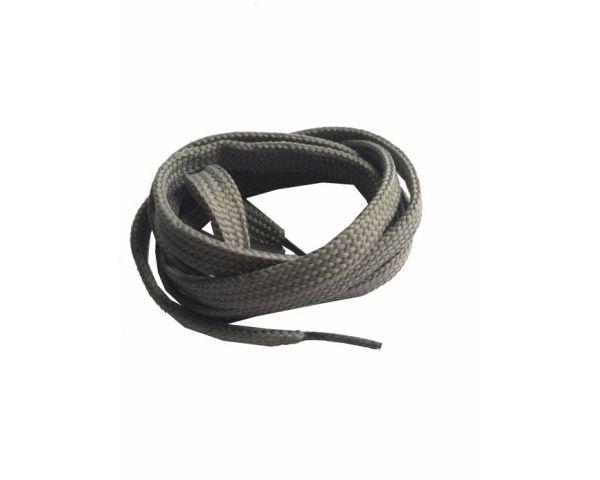Shoe lace flat grey