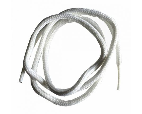 Shoe lace round normal white