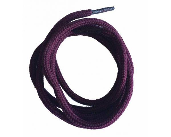 Shoe lace round normal burdeos