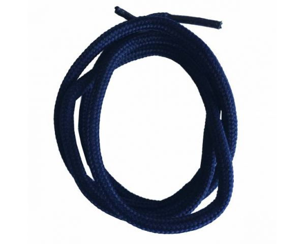 Shoe lace round normal navy blue