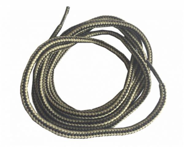 Shoe lace round normal brown-beige