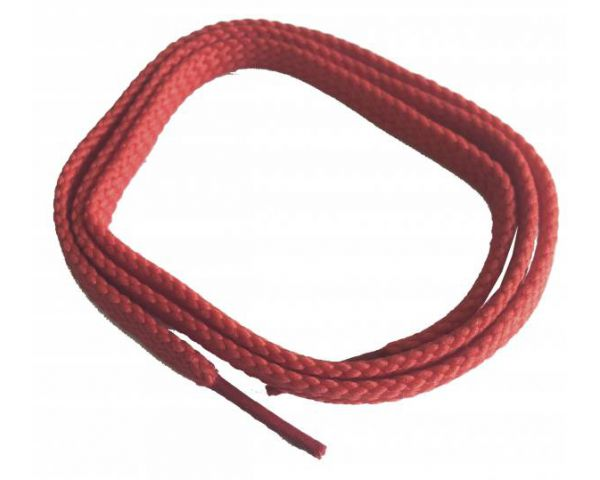 Shoe lace flat thin red