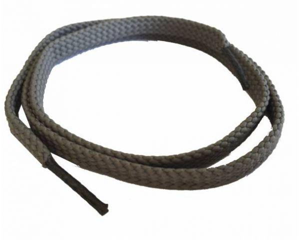 Shoe lace flat thin grey