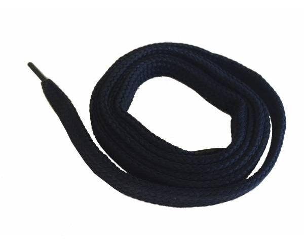 Shoe lace flat blue