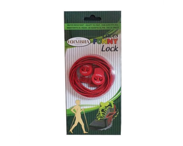 Red Elastic shoe laces
