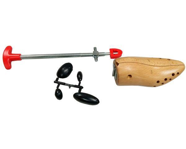 Wooden shoe-horn