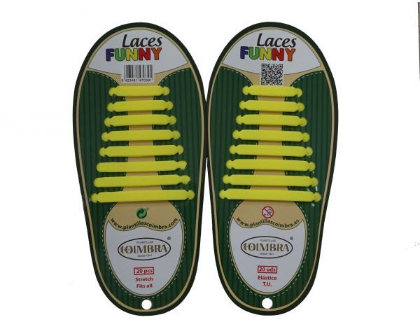 Yellow Funny Laces
