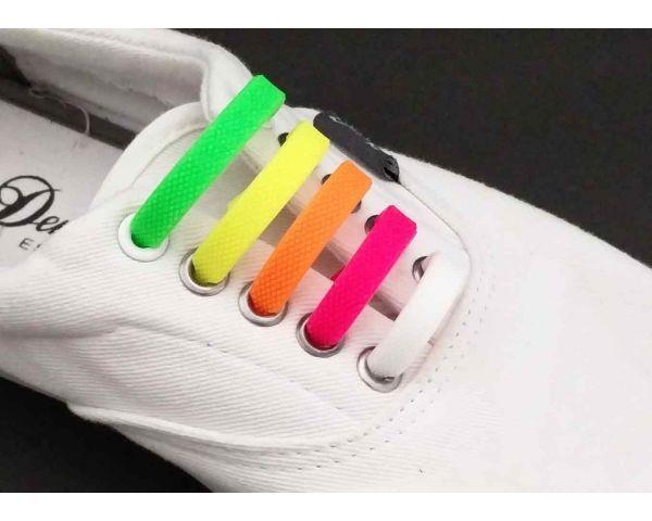 Multicolors silicone funny laces