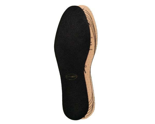 Insole Luxe Black Leather cut-to-siz